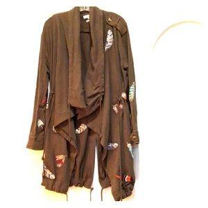 MM Vintage Jackets & Coats - MM Vintage forest green cotton jacket